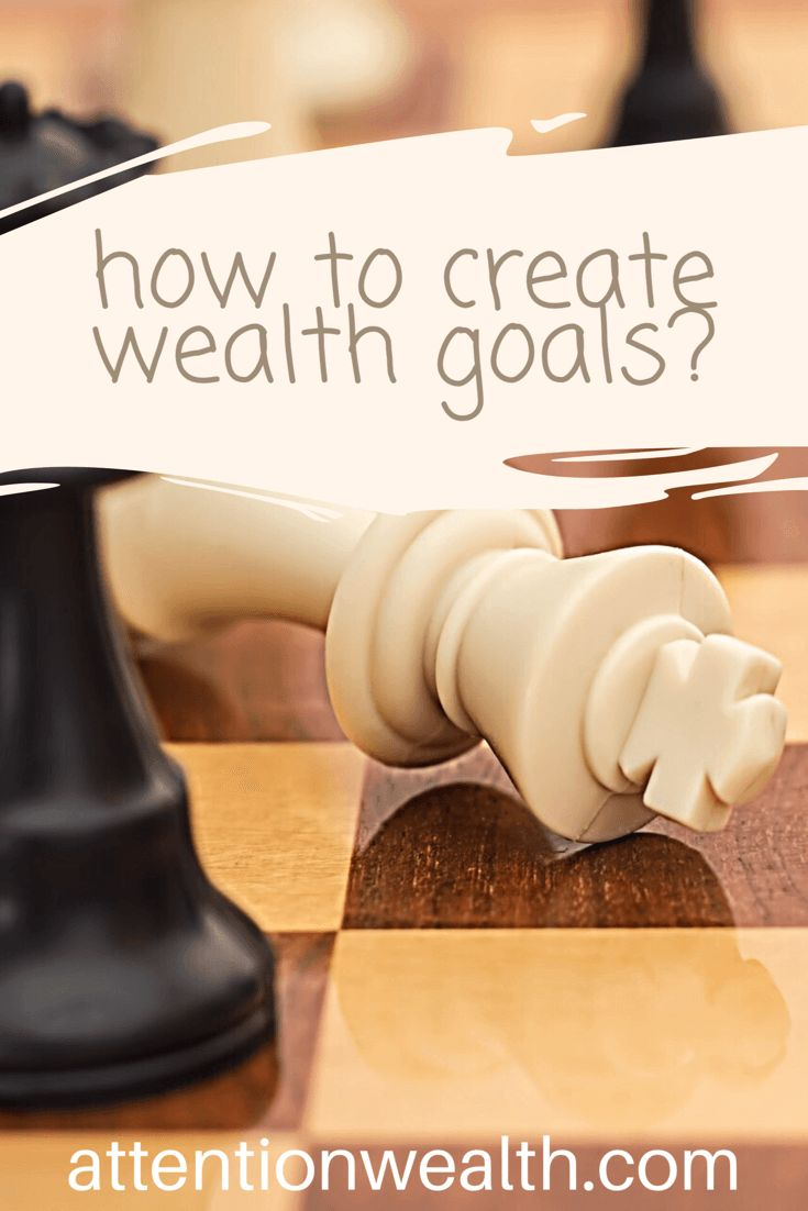 How to create Wealth Goals