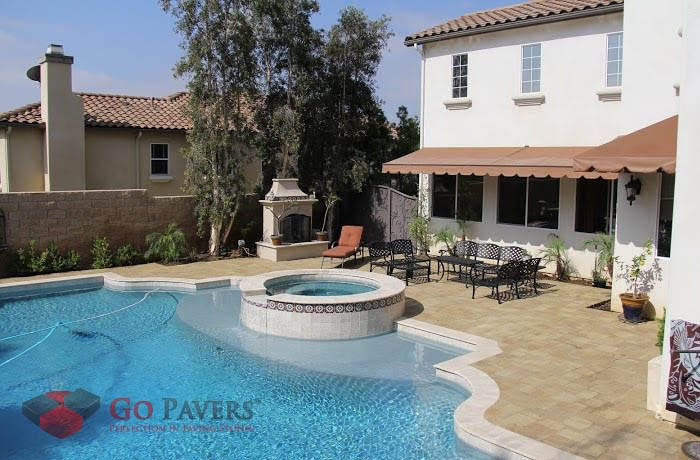 25 Best Pool Projects Go Pavers Images On Pinterest