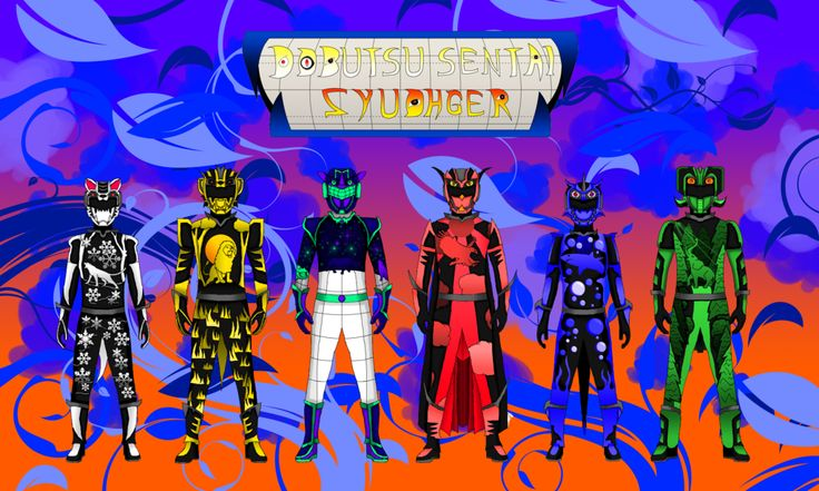 Here is a redo of my redesign for Dobutsu Sentai Zyuohger.