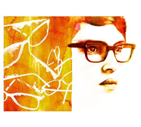 Eyewear - Top Magazine UK - Illustration by ©Luis Tinoco - WWW.LUISTINOCO.COM