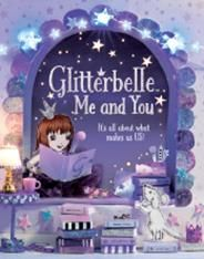 Glitterbelle : Me and You Princess Secrets Journal Book Glitterbelle is a fun & friendly, shimmery & glittery, modern day princess. The easy-to-follow stories explore the world of Glitterbelle, her best friends, and pet dog Bob, as they attend school and practice wide-ranging hobbies such as singing, dressing up and baking – but with extra special sparkle! Glitterbelle's world is brought to life through stunning, elaborate, miniature sets, each skilfully created by hand.
