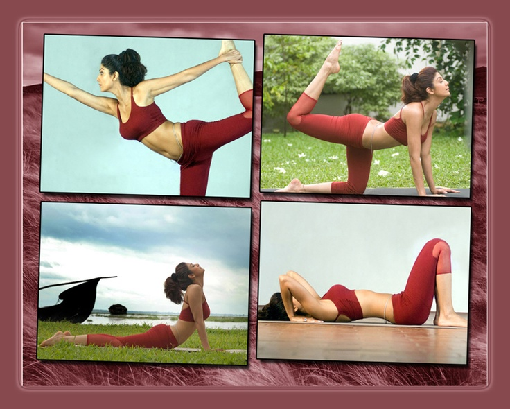 #Fitness Facts - Shilpa Shetty's secret behind a fit body is #Yoga.