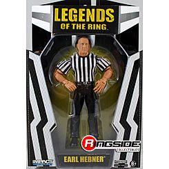 TNA Impact Wrestling Earl Hebner (Referee Exclusive) -  Ringside Exclusive TNA Wrestling Action Figure