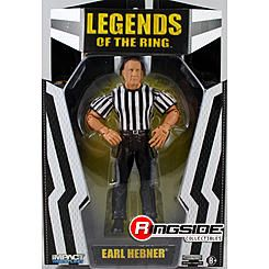 TNA Impact Wrestling Earl Hebner (Referee Exclusive) -  Ringside Exclusive TNA Wrestling Action Figure