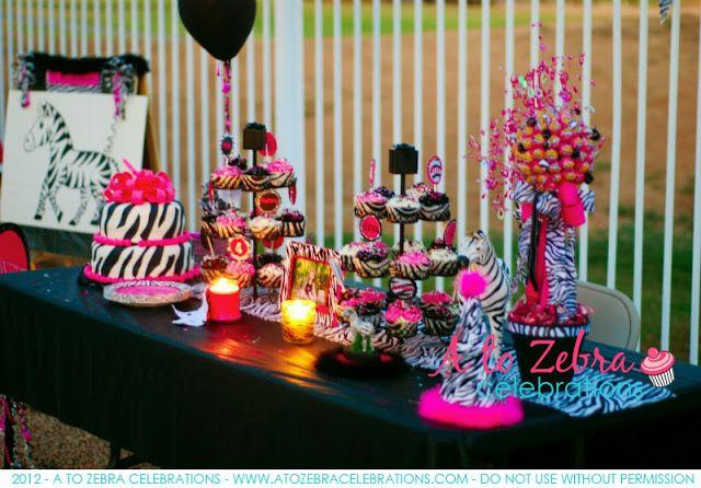 Zebra Party   A to Zebra Celebrations-http://atozebracelebrations.com/2010/05/zebra-party.html