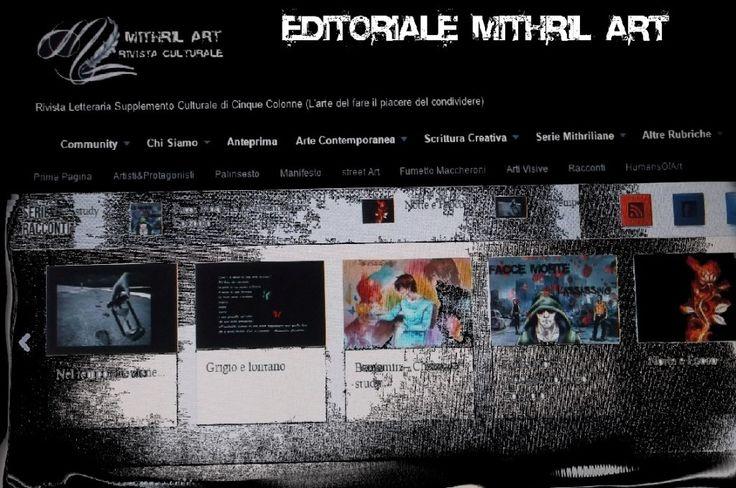Editoriale: Storie Mithriliane - Mithril ArtMithril Art