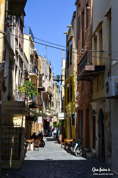 Rue de La Canée (Khaniá) - Crète - Grèce