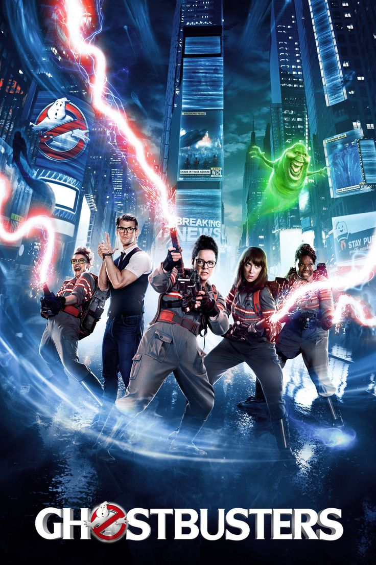 Ghostbusters (2016) HD Movie Poster