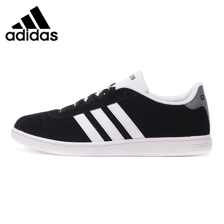 Original Nouvelle Arrivée 2017 Adidas NEO Étiquette Hommes Planche À Roulettes de Chaussures Low Top Sneakers