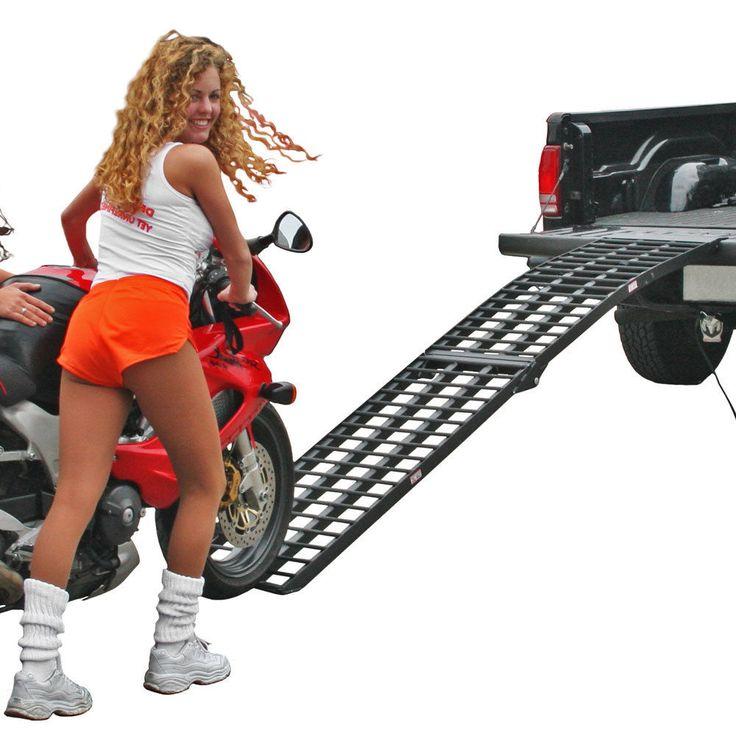 "http://motorcyclespareparts.net/9-x-17-25-4-beam-folding-arched-single-runner-motorcycle-loading-ramp/9' x 17.25"" 4-Beam Folding Arched Single Runner Motorcycle Loading Ramp"