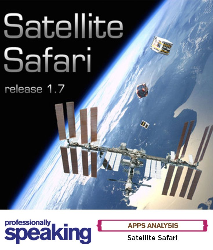 Catching a glimpse of a satellite streaming by is one of the joys of watching the #nightsky. Budding #astronomers aged 9+ no longer need to leave these sightings to chance. Satellite Safari tracks hundreds, including the #InternationalSpaceStation. It's full of fascinating details, for instance, when a #satellite was launched, from where and what for. Latitude, longitude, altitude, speed and brightness (visual magnitude) are all on display. #edtech #space #outerspace #solarsystem #galaxy…