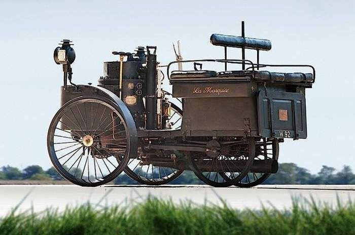 1884 French steam-powered car still runs. Recently sold for $4.6 million !!!!!