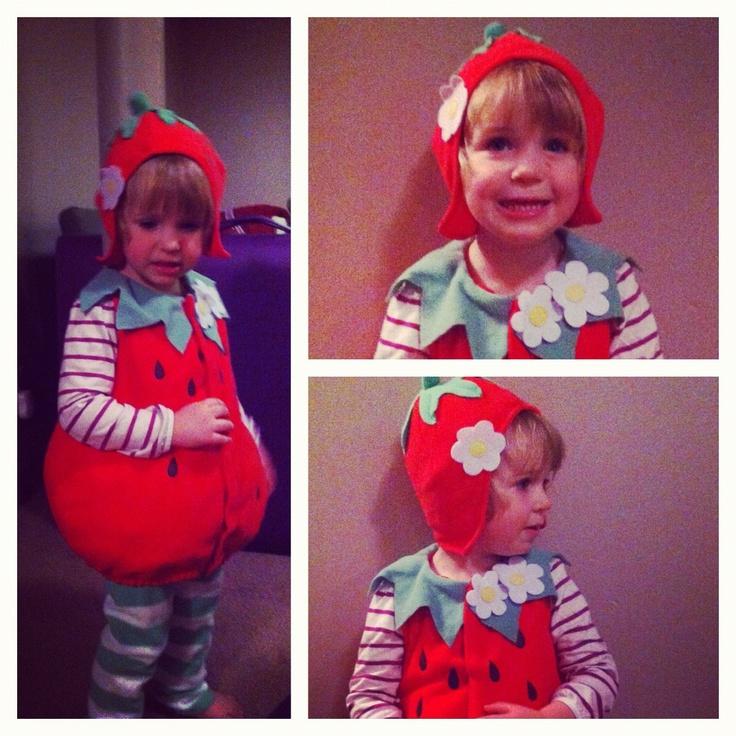 Julia's strawberry costume