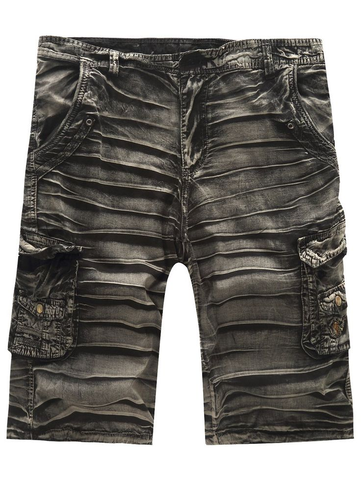 Hot Sale Multi-Pockets Cargo Shorts For Men #CLICK! #clothing, #shoes, #jewelry, #women, #men, #hats