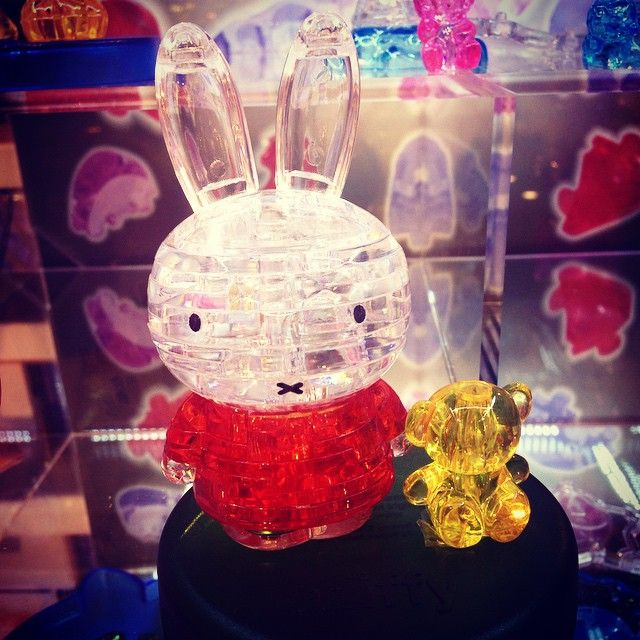 Crystal puzzle #Miffy