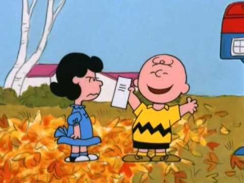 Es la gran calabaza Charlie Brown - fracmento