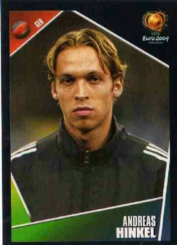 Andreas Hinkel of Germany. Euro 2004 card.