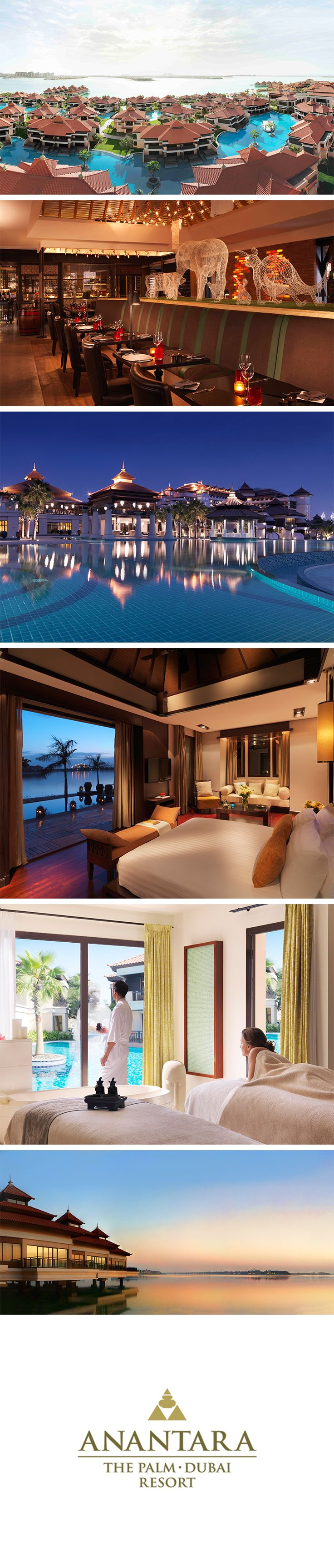 Designed with true Asian flair, #Anantara The #Palm #Dubai Resort offers…