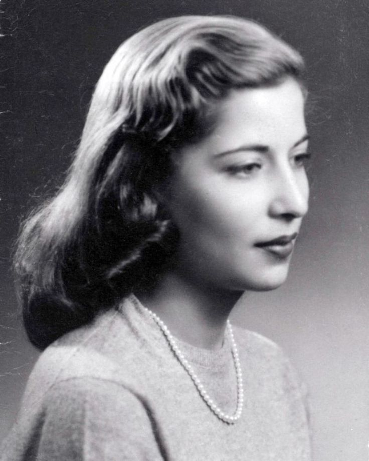 This is young Ruth Bader Ginsburg
