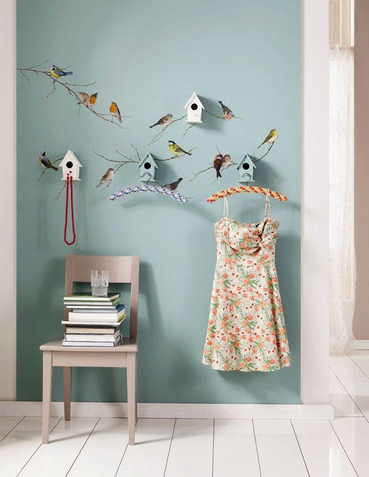 Картинки с птичками на стену