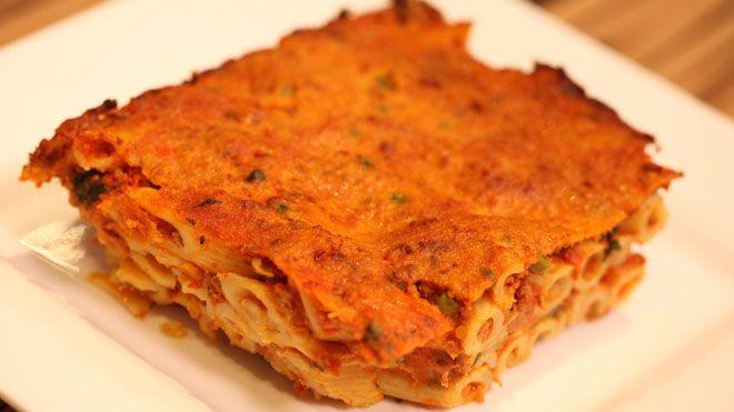Pasta al forno - recept | 24Kitchen