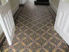 Image result for original victorian tiled hallway