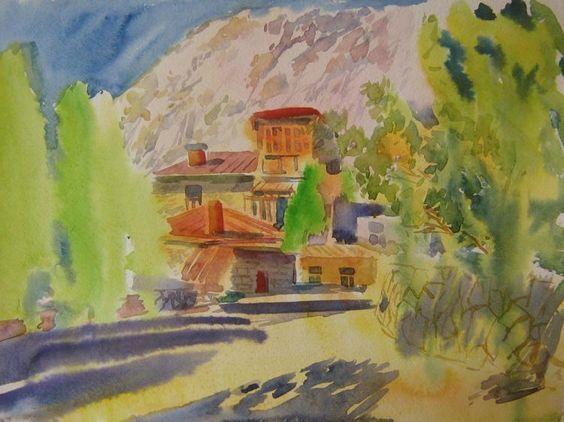 Карасёва Нелли -  Старинный дом в Крыму.Симеи