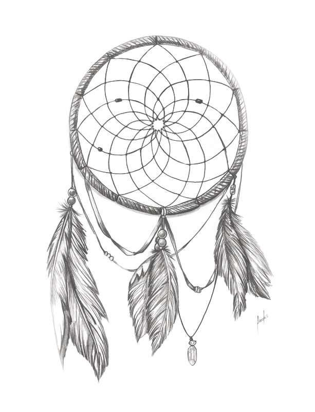Dream Catcher Outline 329 Best Tattoopatronen Dreamcatcher's Images On Pinterest