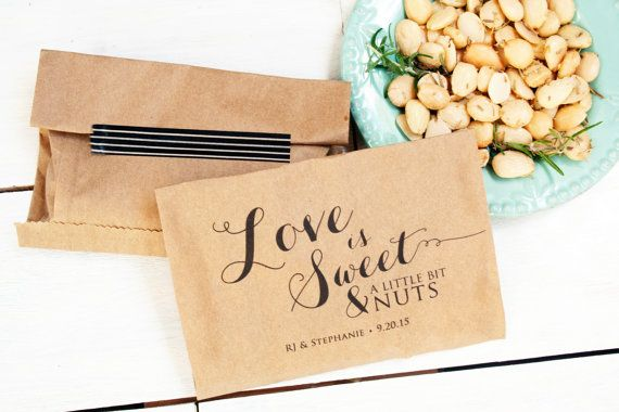 Hey, I found this really awesome Etsy listing at https://www.etsy.com/ca/listing/203273643/love-is-nuts-wedding-favor-bag-nut-favor