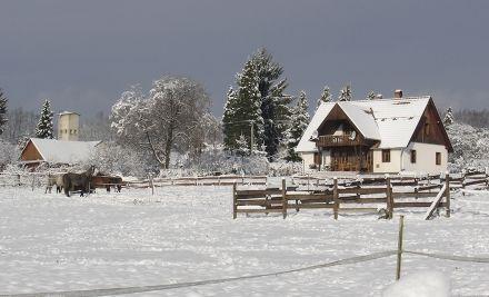 Tél az Őrségben
