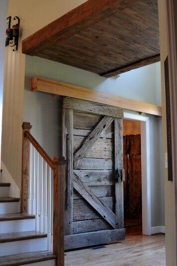 Barn Door Diy Built By Girls Hardwood Ceiling Also Built