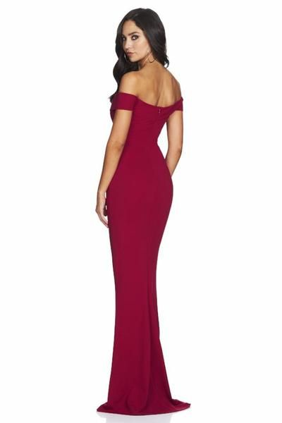 5b9d0ddd46 NOOKIE Dolly Gown (ruby)- RRP  279 - Dress for a Night- Designer ...