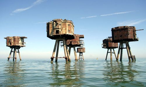 Whitstable. Hard to choose a shot but the Maunsell sea forts are pretty cool