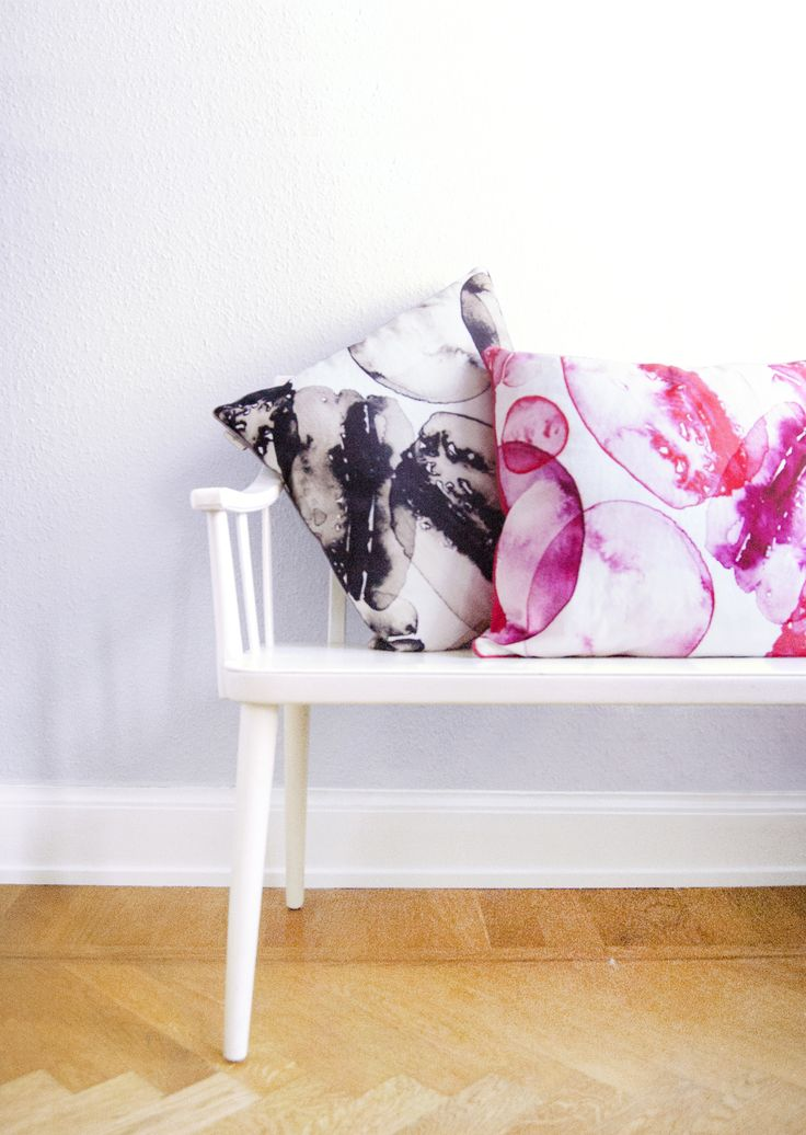 My love for Paris in an pattern. Shown at Formex autumn 2013, Home Natures stand A06:38. www.matildasvensson.com