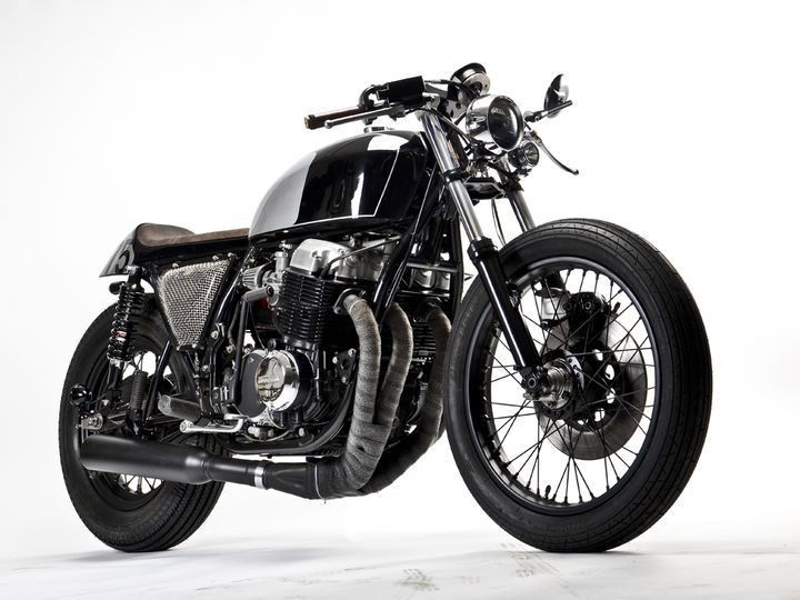 Wow! Beautiful Honda #CafeRacer CB750 MHF014 by MotoHangar #motorcycles #motos   caferacerpasion.com