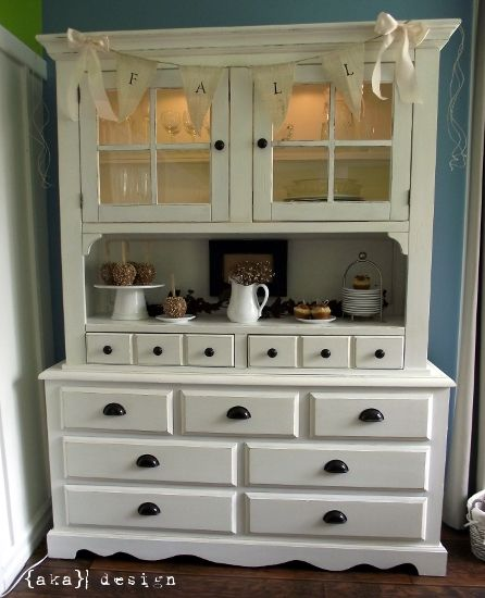 i want a hutch just like this (or close to) to refinish for in my dinning room. kijiji!