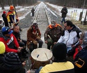 Idle No More blockades CN Rail - Canada News - Castanet.net