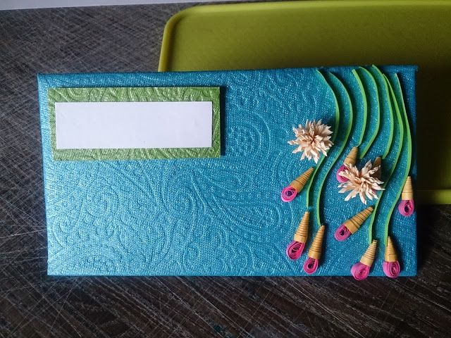 Quilled Envelopes
