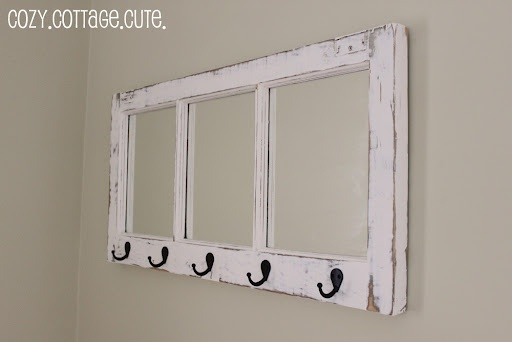 old window frame decorating ideas
