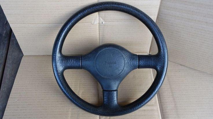genuine original mazda 323 familia gtx steering wheel