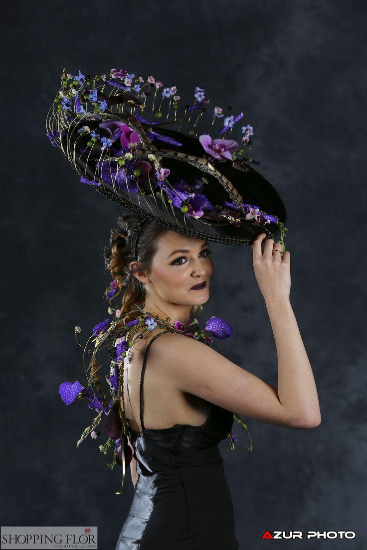 Défilé #fleurs #coiffure