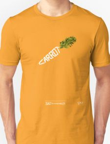 CARROT - - - - - - - EAT YOUR VEGETABLES T-Shirt @bembureda on @redbubble #carrot, #orange, #eat your vegetables, #verdura, #carota, #kitty, #veggie, #vegan, #health, #calligraphy, #font, #type, #fashion, #lettering, #icon, #green, #wear, #summer, #standbyme, #seal, #cats, #classic, #80, #eighties, #pulp, #grocery #store,#corner #shop #green #love #eye #horses #bunny
