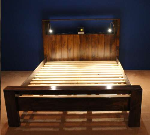 Bed frame wooden beds wood beds and make your for Make your own bed frame ideas