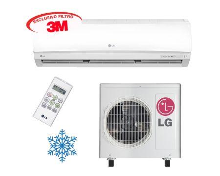 Ar Condicionado LG Split Hi Wall Smile 3M 18.000 BTU/h - Frio 220V