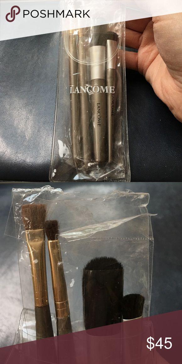 Lancome 4 pc make up brush set.  NEW Lancome 4 pc makeup brush set. NEW Lancome Makeup