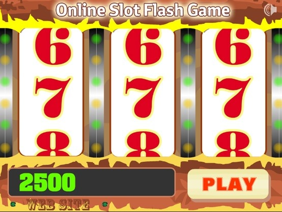 A simple slot machine. The game starts with 2500 points. Running the game begins by clicking on PLAY. Play now for free!