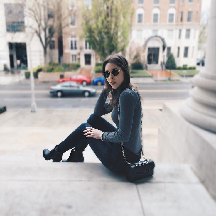 Happy I pulled out my favorite turtleneck last weekend for one last winter wear... today it's in the 70s. This will be the first edit to hit greyhenry.com, coming soon!    #goodbyewinter #neutrals #dc    Grey Henry