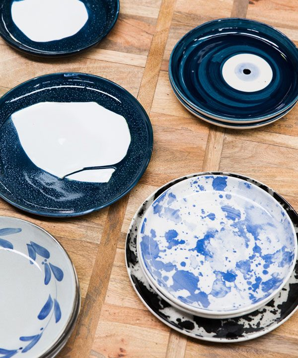 Plates created by Robert Gordon Australia. Production – Lucy Feagins, photo - Sean Fennessy for thedesignfiles.net