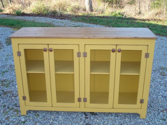 Sideboard Buffet Dining Room Kitchen Storage- for cookbooks and coffee bar?