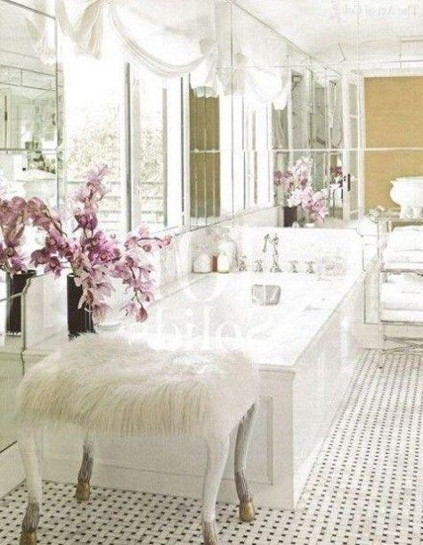 ComfyDwelling.com » Blog Archive » 70 Subtle And Refined Feminine Bathroom  Decor Ideas Part 44